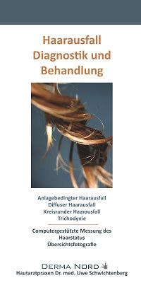 Informationsbroschüre Haarausfall - Diagnostik und Behandlung